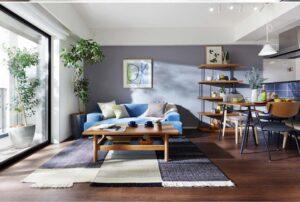 ダーク系床と家具のカラーバランスメソッドとは